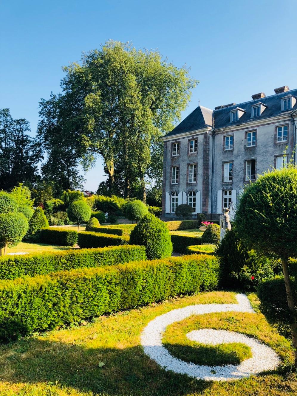 The stunning gardens